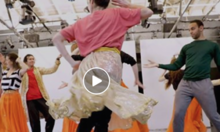 Behind the Scenes: The Cutting Room at BodyVox Dance: