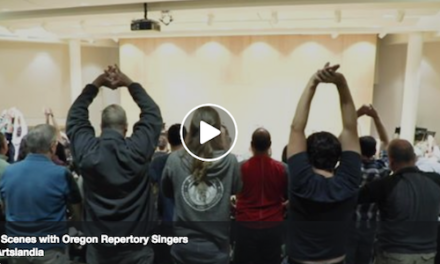 Behind the Scenes with Oregon Repertory Singers!