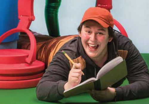 Diary of a Worm, a Spider, and a Fly – Oregon Children's Theatre