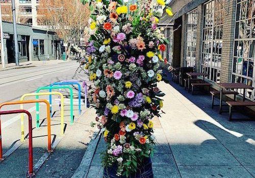 Good News: Florists create 'flower bomb' tour across Portland