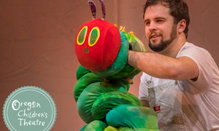 Win 4 tickets to The Very Hungry Caterpillar Show by Oregon Children's Theatre